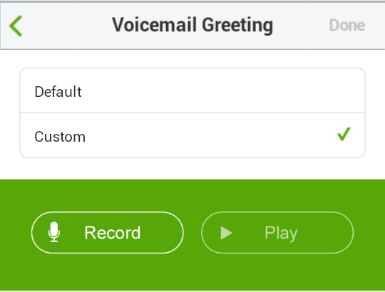 how to call voicemal with fido