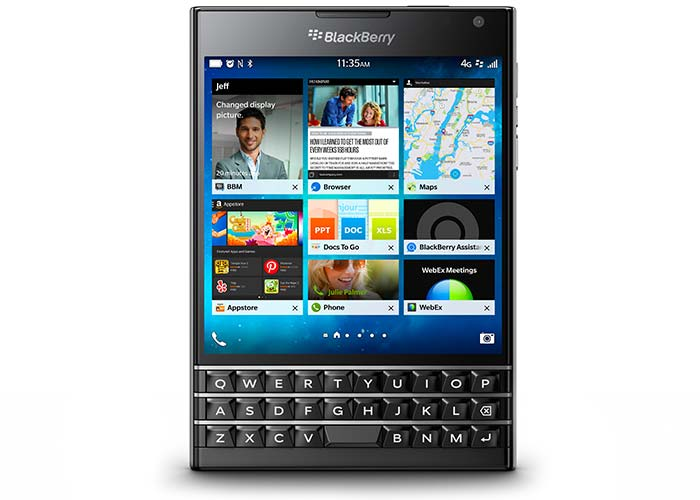 See the bigger picture with the BlackBerry® Passport.